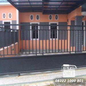 pintu pagar minimalis