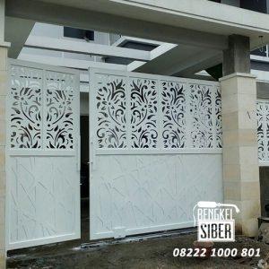 contoh pintu pagar rumah